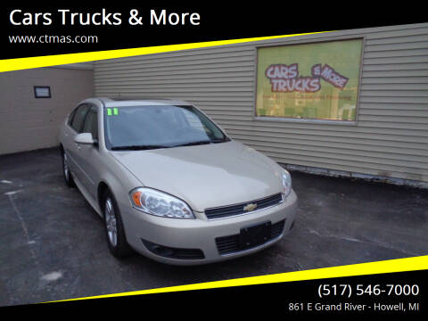 2011 Chevrolet Impala for sale at Cars Trucks & More in Howell MI