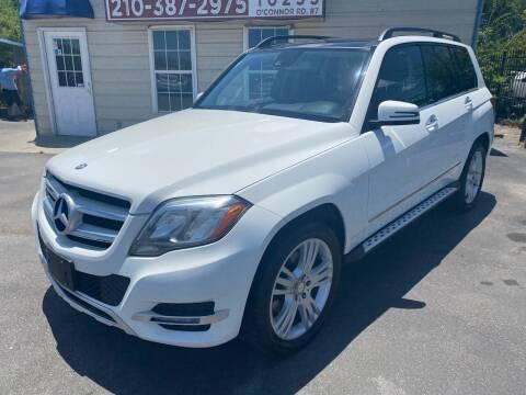 2014 Mercedes-Benz GLK for sale at Silver Auto Partners in San Antonio TX
