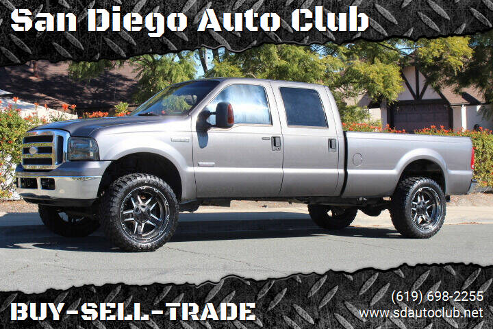 2006 Ford F-350 Super Duty for sale at San Diego Auto Club in Spring Valley CA