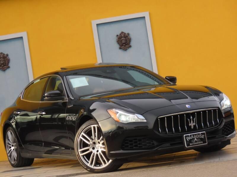 2017 Maserati Quattroporte for sale at Paradise Motor Sports LLC in Lexington KY