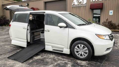 2015 Honda Odyssey for sale at A&J Mobility in Valders WI