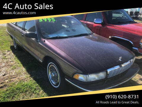 1995 Chevrolet Caprice for sale at 4C Auto Sales in Wilmington NC