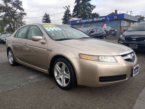 2004 Acura TL for sale at All American Motors in Tacoma WA