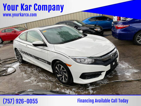 2017 Honda Civic for sale at Your Kar Company in Norfolk VA