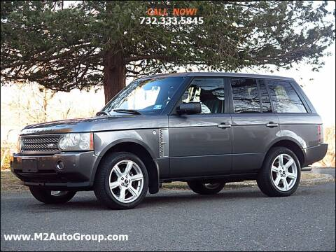 2006 Land Rover Range Rover for sale at M2 Auto Group Llc. EAST BRUNSWICK in East Brunswick NJ