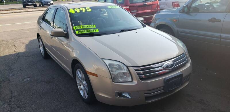 2007 Ford Fusion for sale at TC Auto Repair and Sales Inc in Abington MA