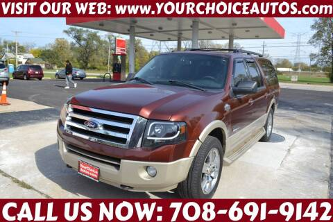 2008 Ford Expedition EL for sale at Your Choice Autos - Crestwood in Crestwood IL