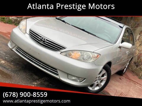 2005 Toyota Camry for sale at Atlanta Prestige Motors in Decatur GA