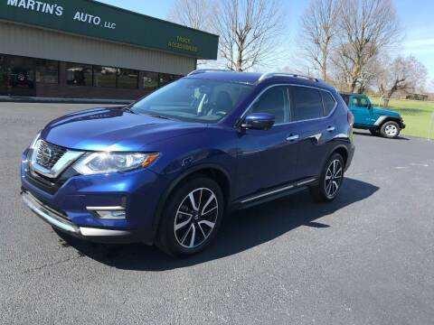 2020 Nissan Rogue for sale at Martin's Auto in London KY