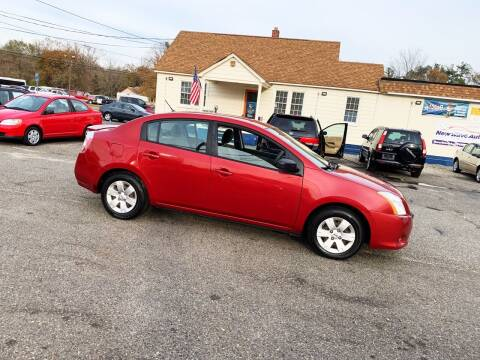 2012 Nissan Sentra for sale at New Wave Auto of Vineland in Vineland NJ