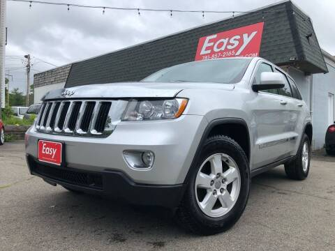 2012 Jeep Grand Cherokee for sale at Easy Autoworks & Sales in Whitman MA
