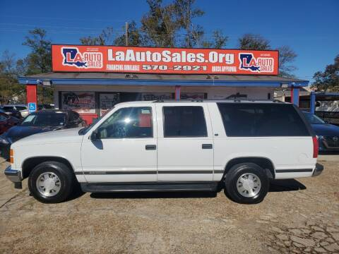 1998 GMC Suburban for sale at LA Auto Sales in Monroe LA