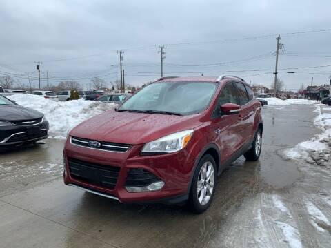 2014 Ford Escape for sale at Crooza in Dearborn MI