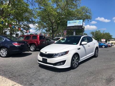 2012 Kia Optima for sale at All Star Auto Sales and Service LLC in Allentown PA