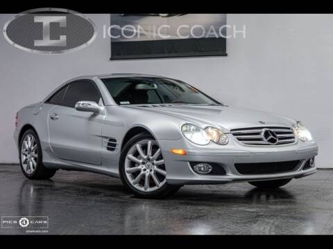 2007 Mercedes-Benz SL-Class for sale at Iconic Coach in San Diego CA