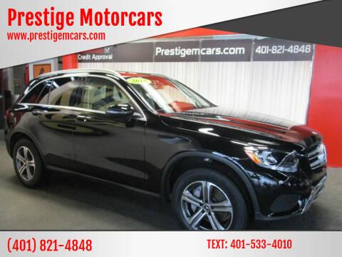2018 Mercedes-Benz GLC for sale at Prestige Motorcars in Warwick RI
