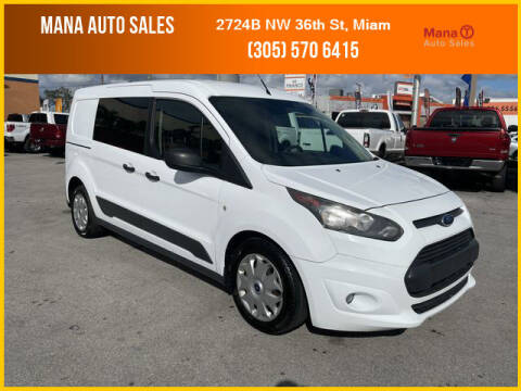 2015 Ford Transit Connect Cargo for sale at MANA AUTO SALES in Miami FL