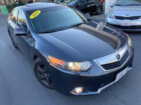 2012 Acura TSX for sale at Sac River Auto in Davis CA