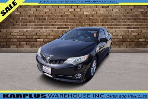 2013 Toyota Camry for sale at Karplus Warehouse in Pacoima CA
