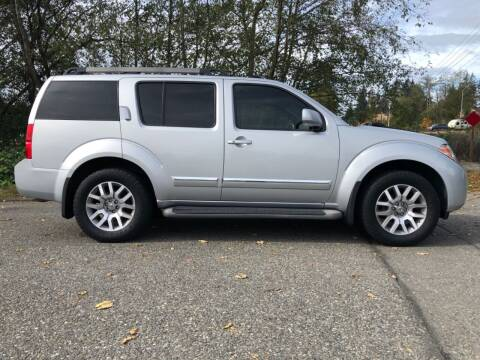 2011 Nissan Pathfinder for sale at Grandview Motors Inc. in Gig Harbor WA
