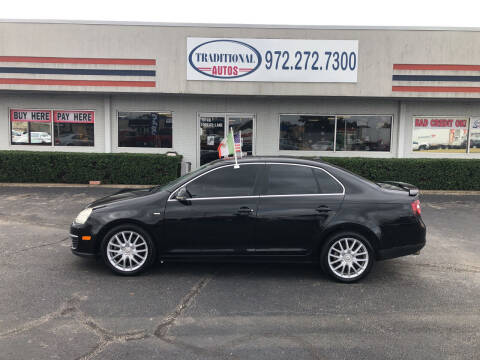 2008 Volkswagen Jetta for sale at Traditional Autos in Dallas TX