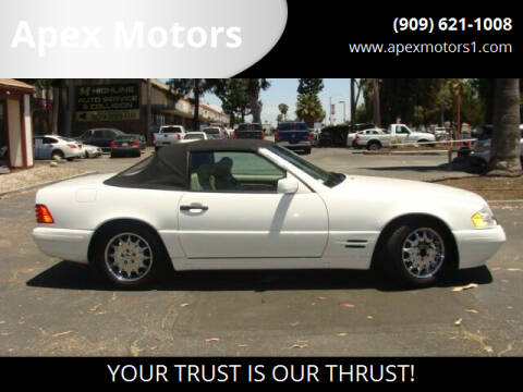 1997 Mercedes-Benz SL-Class for sale at Apex Motors in Montclair CA