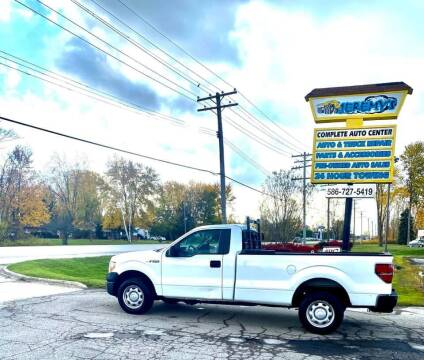 2010 Ford F-150 for sale at JEREMYS AUTOMOTIVE in Casco MI