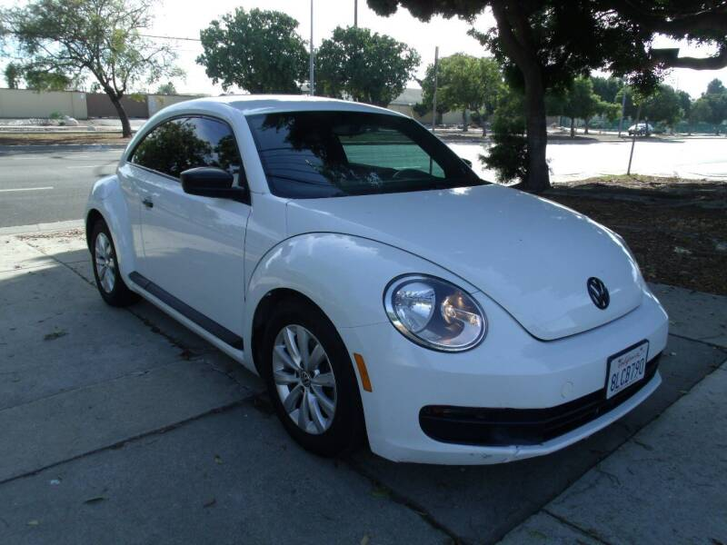 2014 Volkswagen Beetle for sale at Hollywood Auto Brokers in Los Angeles CA