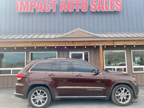 2015 Jeep Grand Cherokee for sale at Impact Auto Sales in Wenatchee WA