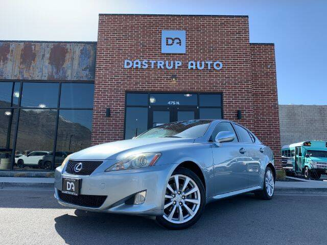 2008 Lexus IS 250 for sale at Dastrup Auto in Lindon UT