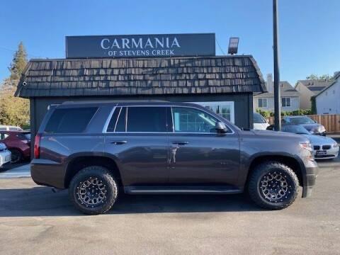 2018 Chevrolet Tahoe for sale at Carmania of Stevens Creek in San Jose CA