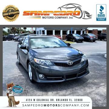 2012 Toyota Camry for sale at SAMPEDRO MOTORS COMPANY INC in Orlando FL