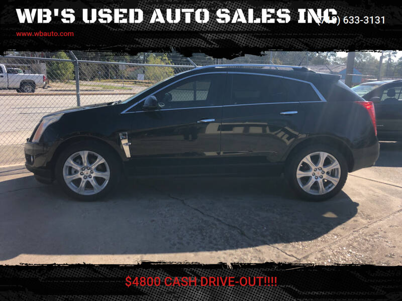 2010 Cadillac SRX for sale at WB'S USED AUTO SALES INC in Houston TX