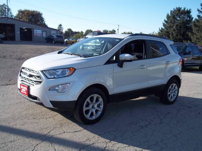 2018 Ford EcoSport for sale at SHULLSBURG AUTO in Shullsburg WI