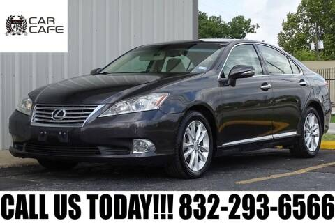 2011 Lexus ES 350 for sale at CAR CAFE LLC in Houston TX