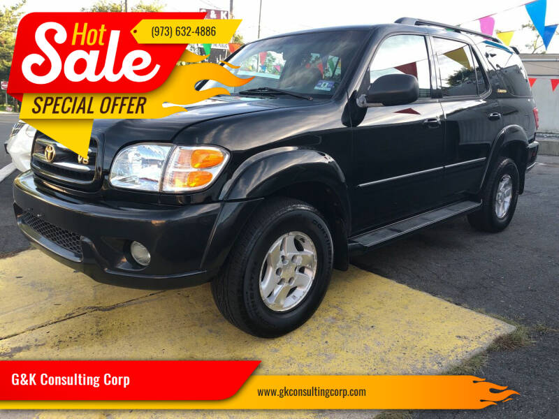2002 Toyota Sequoia for sale at G&K Consulting Corp in Fair Lawn NJ
