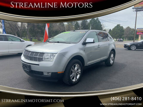2010 Lincoln MKX for sale at Streamline Motors in Billings MT
