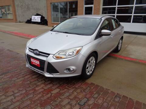 2012 Ford Focus for sale at Rediger Automotive in Milford NE