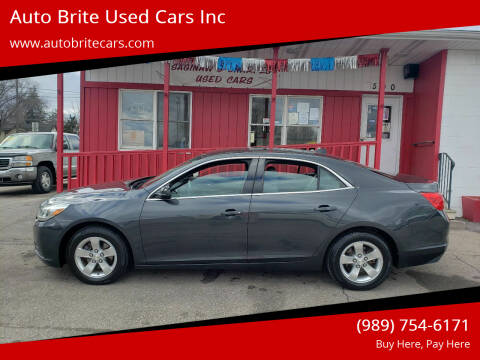 2014 Chevrolet Malibu for sale at Auto Brite Used Cars Inc in Saginaw MI
