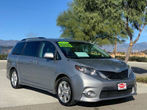 2011 Toyota Sienna for sale at Esquivel Auto Depot in Rialto CA