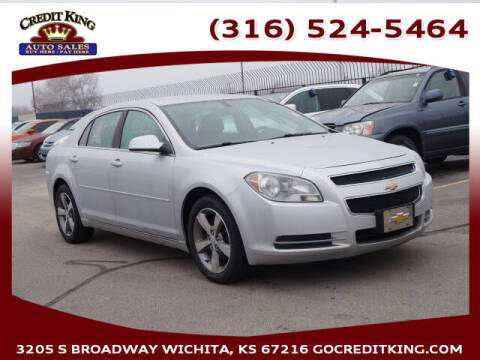 2011 Chevrolet Malibu for sale at Credit King Auto Sales in Wichita KS