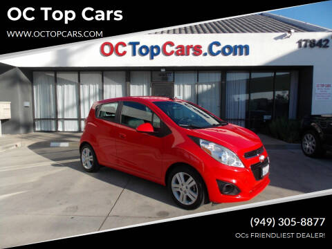 2013 Chevrolet Spark for sale at OC Top Cars in Irvine CA