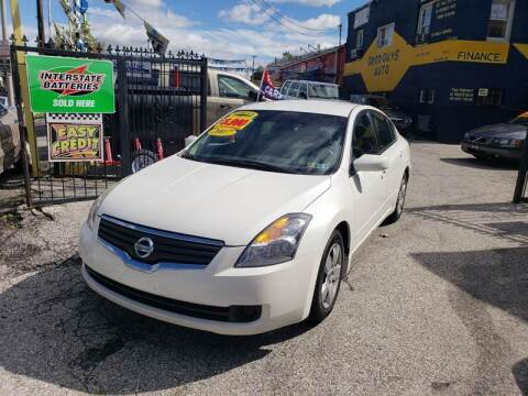 2008 Nissan Altima for sale at UPTOWN DIPLOMAT MOTOR CARS in Baltimore MD