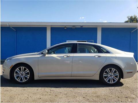 2014 Lincoln MKZ Hybrid for sale at Khodas Cars in Gilroy CA