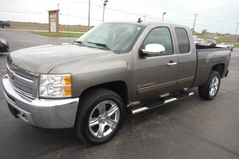 2013 Chevrolet Silverado 1500 for sale at Bryan Auto Depot in Bryan OH
