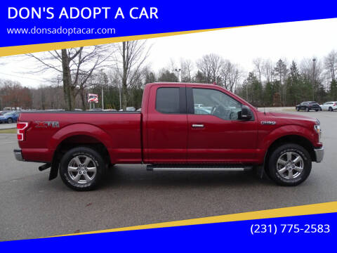 2018 Ford F-150 for sale at DON'S ADOPT A CAR in Cadillac MI