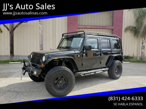 2013 Jeep Wrangler Unlimited for sale at JJ's Auto Sales in Salinas CA