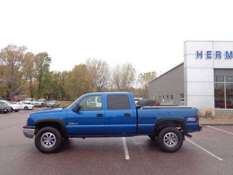 2003 Chevrolet Silverado 1500HD for sale at Herman Motors in Luverne MN