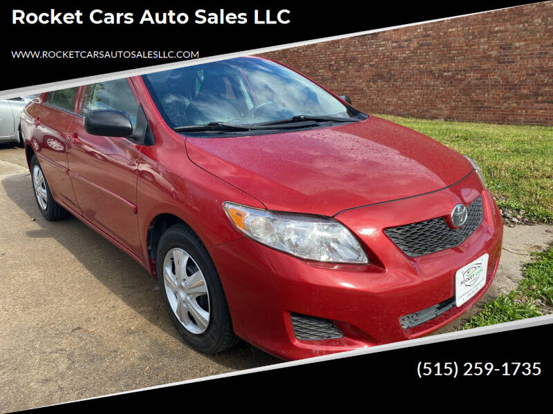 2009 Toyota Corolla for sale at Rocket Cars Auto Sales LLC in Des Moines IA