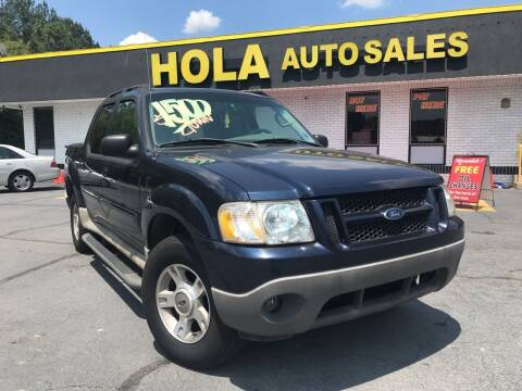 2003 Ford Explorer Sport Trac for sale at HOLA AUTO SALES CHAMBLEE- BUY HERE PAY HERE - in Atlanta GA